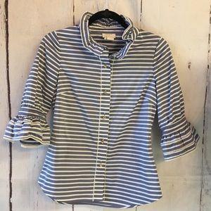 Kate Spade New York Cotton Silk Blouse Size 0